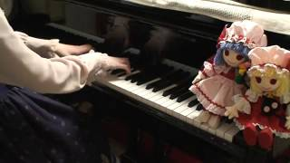 getlinkyoutube.com-【東方 Piano】化け猫がU.N.オーエンは彼女なのか?を弾いてみた