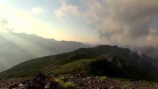 getlinkyoutube.com-蝶ヶ岳から燕岳へ夏山縦走登山 2013.8 1日目:三股登山口から蝶ヶ岳へ