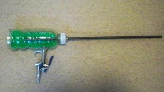 getlinkyoutube.com-How to Make a Full Auto Airsoft Machine Gun from a Soda Bottle