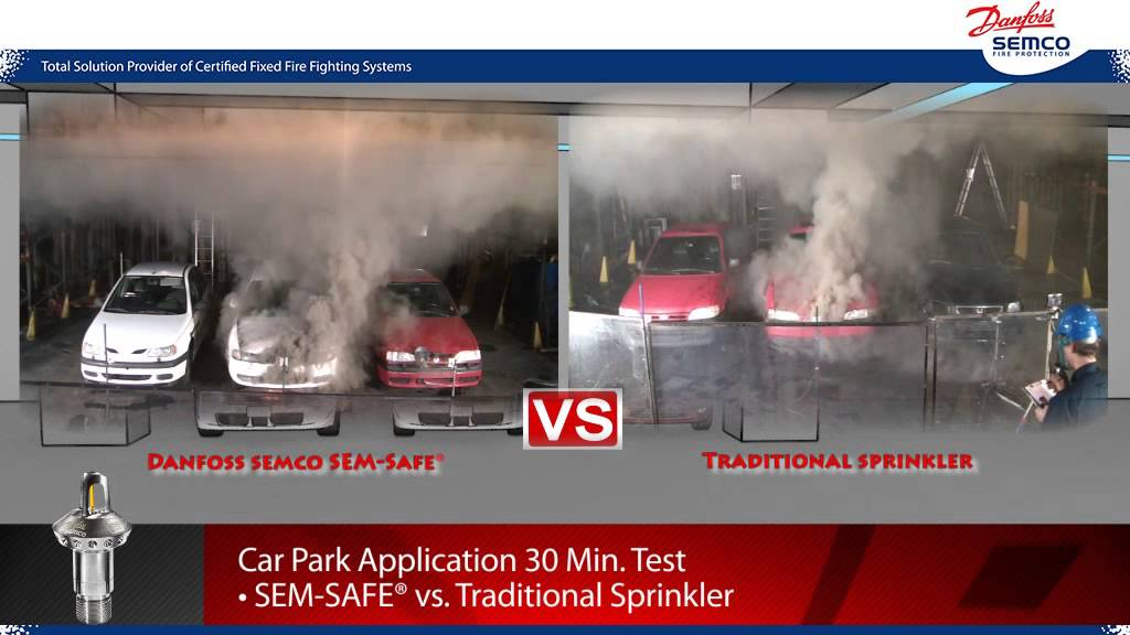 Danfoss Semco Fire Protection of Car Parks