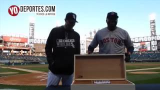 Chris Sale presents David Ortiz Boston Red Sox cigars