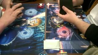 getlinkyoutube.com-Cardfight!! Vanguard 03-20-15 Qoheleth (Musketeer Stride) VS Mercenary King (Nubatama Legion Stride)