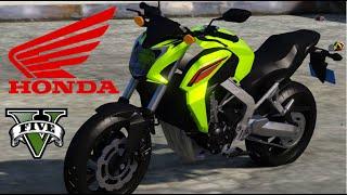 getlinkyoutube.com-GTA V Mods - Rolê de Honda CB 650F