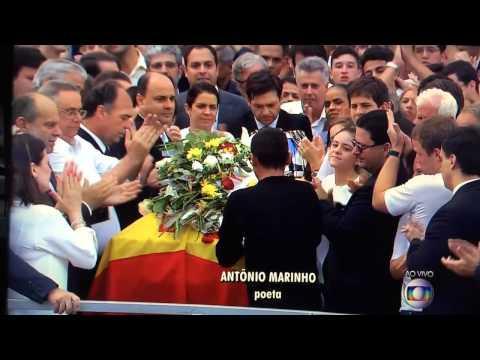 Eduardo Campos homenagem do poeta Antônio Marinho