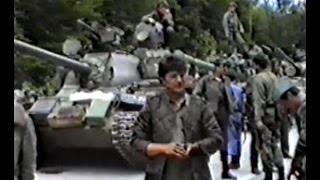 Napad srpskog agresora i JNA na Bihać - Golubić 16.06.1992. godine