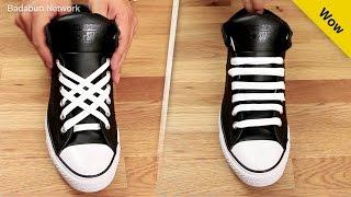 getlinkyoutube.com-5 formas increíbles de amarrar tus agujetas. Serás la envidia de tu salón