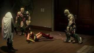 getlinkyoutube.com-SaintsRowIV - Wonder Woman surprise attacked by Zin