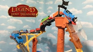 getlinkyoutube.com-Thomas and Friends New Trackmaster Shipwreck Rails Train Set  Disney Cars Planes Play Doh