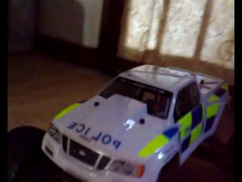 Videos Related To 'hpi Rc Nitro Savage Police Vehicle 4x4 Mo