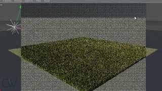 getlinkyoutube.com-How to make Grass in Cinema 4D R13 with Vray