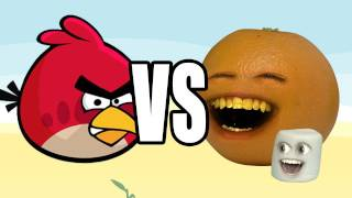getlinkyoutube.com-Annoying Orange vs Angry Birds: MARSHMALLOW