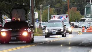 getlinkyoutube.com-PD Escort for Police Officer  Michael Williams NYPD