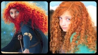 getlinkyoutube.com-Brave Inspired Hairstyle Tutorial | A CuteGirlsHairstyles Disney Exclusive