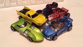 getlinkyoutube.com-Team Hot Wheels Origin of Awesome 5-Pack!
