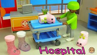 getlinkyoutube.com-Craziest Day At the Playmobil Childrens Hosptial - Crazy Weird Shopkins Medical Video