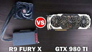 getlinkyoutube.com-AMD R9 FURY X vs Nvidia GTX 980 TI - 4k Gaming Benchmarks