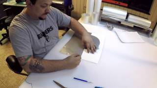 How to make a decal from begining to end! Titan 3 vinyl cutter