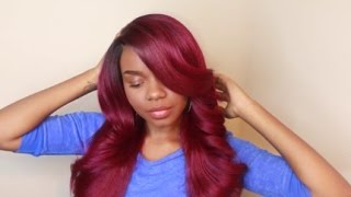 getlinkyoutube.com-Long & Thick! Isis Red Carpet RCP758 Kelly Lace Front Wig