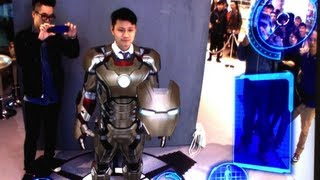 getlinkyoutube.com-Iron Man 3:雨陽鐵甲率先上身