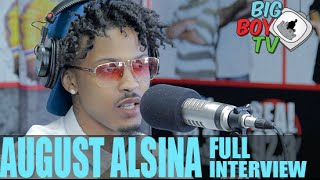 """getlinkyoutube.com-August Alsina on """"This Thing Called Life"""", Falling In Love, And More! (Full Interview) 