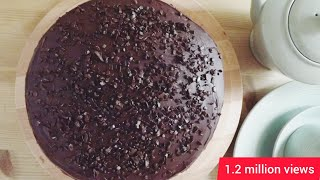 CHOCOLATE Oreo cake in Cooker.
