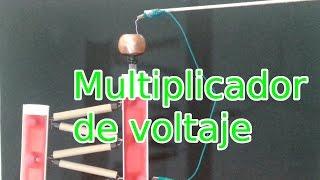 getlinkyoutube.com-Multiplicador de Voltaje de 60,000 Voltios