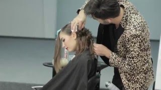 getlinkyoutube.com-hairdo by Farrukh Shamuratov seminar in Moscow