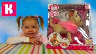 getlinkyoutube.com-Чи чи Лав Принцесса собачка распаковка игрушки гуляем с в Леопарке