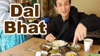 Dal Bhat (दालभात) - Delicious Nepali Food Meal (Motherly Cooked)