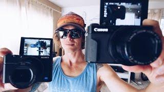 Best Vlogging Camera 2016 -  Canon g7xii vs Sony rx100iv - Best youtube camera