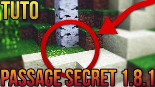 getlinkyoutube.com-PASSAGE SECRET 1.8.1 FACILE! | Minecraft
