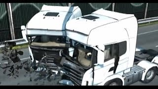 getlinkyoutube.com-Euro Truck Simulator 2 Hasar Alma Animasyonu!..