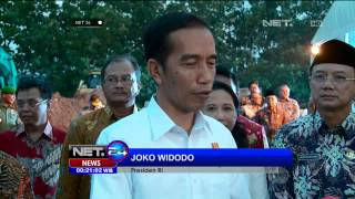 Presiden Jokowi Resmikan Tol Trans Sumatera - NET24