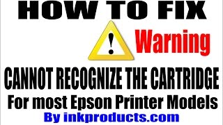getlinkyoutube.com-How To Repair (Cannot Recognize The Cartridge) for Epson Printers