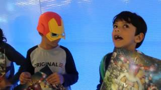 getlinkyoutube.com-Marvel Universe Live Show at the O2 London - Kids' honest review