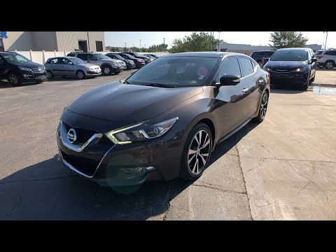 2016 Nissan Maxima Muskogee, Pryor, Broken Arrow, Tulsa, Fort Gibson, OK P1415