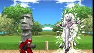 getlinkyoutube.com-(KOF WOJ) Akiha Yagami VS Old Orochi