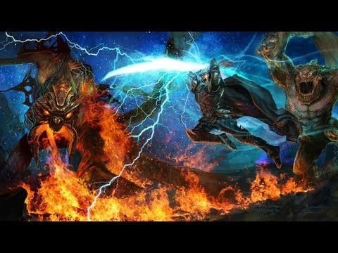 Kingdoms of Amalur: Reckoning - Launch Trailer