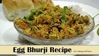 getlinkyoutube.com-Egg Bhurji Recipe in Hindi by Cooking with Smita - Egg Khagina - Anda Bhurji