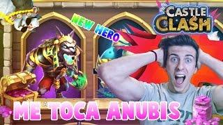 ¡¡ME TOCA ANUBIS!!  EL NUEVO HEROE | CASTILLO FURIOSO | ROLLINGS GEMS ANUBIS | CASTLE CLASH |