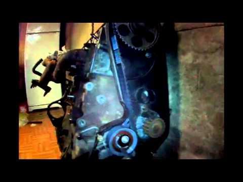 VW T4  ГРМ  Контрольные точки, двиг  БЕНЗИН, АЕТ 2,5