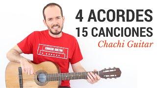 getlinkyoutube.com-15 Canciones con 4 Acordes - Guitarra Fácil Principiantes