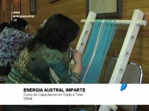 Energía Austral - Curso Tejido a Telar Witral