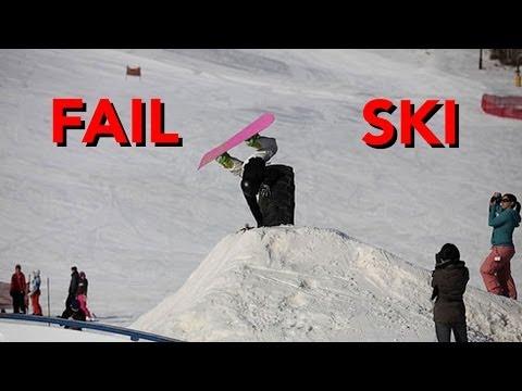 Snow Fail compilación 2014: saltos nieve, ski, esqui, caidas, snow, snowboard