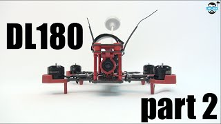 getlinkyoutube.com-HPIGUY | Budget DL180 MiniQuad Build (Part2) Build and Test Fly - From Bangood.com