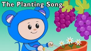 getlinkyoutube.com-Kids Have Fun with Farm Work   The Planting Song and More   Baby Songs from Mother Goose Club!
