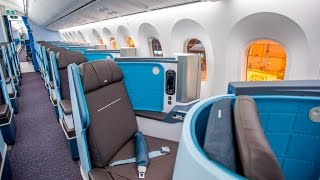 getlinkyoutube.com-KLM BOEING 787 DREAMLINER  | TRIPREPORT | ECONOMY