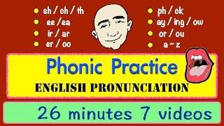 getlinkyoutube.com-Phonic Sounds | Pronunciation | Long Video | English Speaking Practice | ESL | EFL