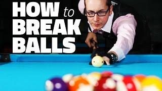 getlinkyoutube.com-Billiards Tutorial: How to Break 8 Ball in Pool
