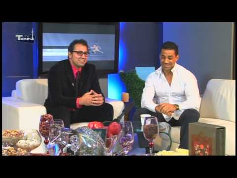 Ten TV sport program with Mehrdad Hajir and Pirooz Varaste part 4